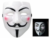 WMA Anonymous V For Vendetta Guy Fawkes Fancy Dress Hallowee Face Mask