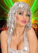 Tinsel Wig Silver