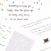 Something to keep you happy wedding version - CHILDRENS WEDDING TABLE ENTERTAINMENT