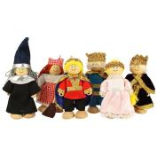 Bigjigs Toys JT118 Heritage Playset Fairy Tale Doll Set