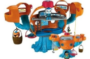 [HSB] Octonauts Octopod Playset with Pack of 10 Safety Door Stoppers