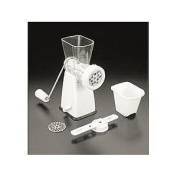 Metaltex Tartare Meat Mincer And Dough Shaper White