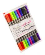 genuine doodle colour wash-out fabric pen set by Stitch designworks