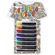 T-Shirt Graffiti Pens - Fabric pens - 8 Permanent Fabric Markers
