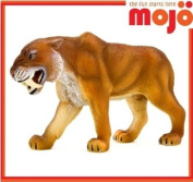 MOJO SMILODON HAND PAINTED REPLICA WILD ANIMAL COLLECTABLE TOY FIGURES 387048