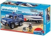Playmobil 5187 Police action - Truck with speedboat