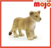 MOJO LION CUB HAND PAINTED REPLICA WILD ANIMAL COLLECTABLE TOY FIGURES 387011