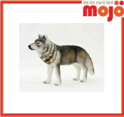 MOJO TIMBER WOLF HAND PAINTED REPLICA WILD ANIMAL COLLECTABLE TOY FIGURES 387025