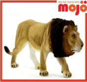 MOJO MALE LION HAND PAINTED REPLICA WILD ANIMAL COLLECTABLE TOYS FIGURES 387004