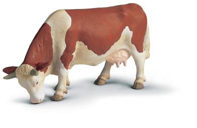 Schleich - Fleckvieh Cow Grazing