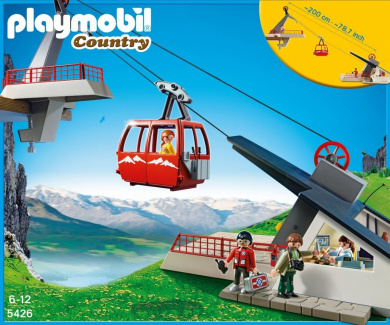 Playmobil 5426 Alpine Cable Car
