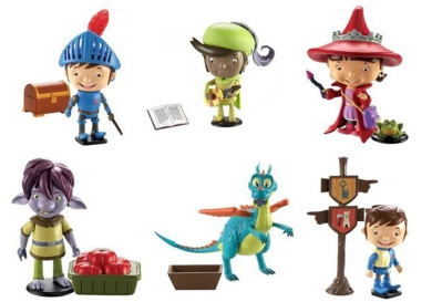Mike the Knight Figure & accessories Set (one supplied)