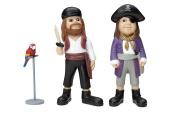 Micki Pippi 2 Pirates and Rosalinda Figures