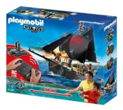 Playmobil 5238 Pirate sail ship with underwater motor