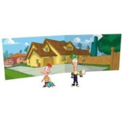 Phineas and Ferb Action Figure Scene Packs - House