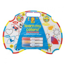 Alex Toys Learn My Colours Alex Little Hands Wipe Off Board and Markers