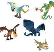 Dreamworks, How to Train Your Dragon, All 5 Dragons