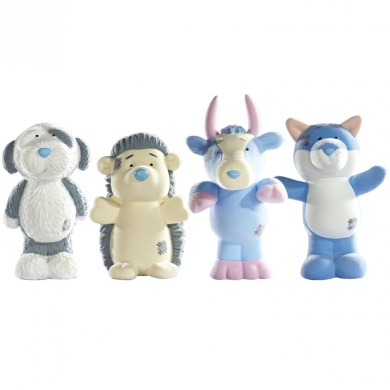 My Blue Nose Friends Konker, Koodoo, Fluffy and Baffle (Pack of 4)