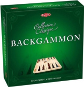 Tactic Backgammon Wooden Backgammon Game
