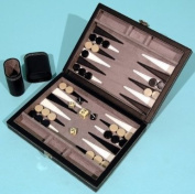 Backgammon set, leatherette 00464