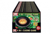 MY Games 10cm 1 Casino Game, inc Chess, Ludo, Chinese Checkers
