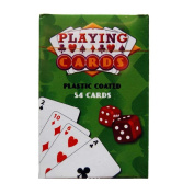 Standard Plastic Coated Playing Cards