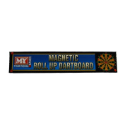 MY Games Magnetic Roll Up Dartboard