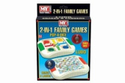 MY Games 2-IN-1 Snakes & Ladders & Ludo
