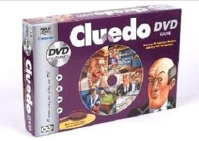 Parker Games - Cluedo DVD Game