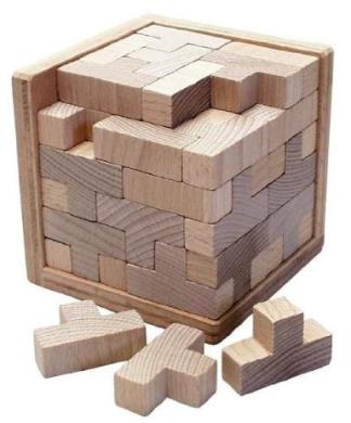 T-Cube, puzzle