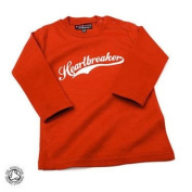 Heartbreaker Baby/Kids Red T-shirt,12-18 months