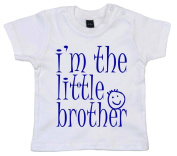 IiE, I'm the Little Brother, Baby Boy T-shirt, 18-24m, White