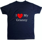 I Love My Granny - 1 - 2 Years - Blue