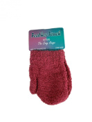 Baby Toddler Feather Soft Mittens Cosy Feel Thermal Assorted Colours Warm - Fuchsia