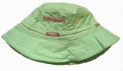 Bright Bots Baby Girl's Hat Adjustable Bucket Style Sun Hat Pretty Green Soft Cotton Canvas size Small-44cm