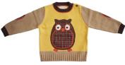 Twit Twoo Owl Applique Children's Sweater