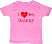 I Love My Granny - 6 - 12 Months - Pink