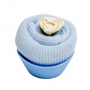 Fairy Cake Design ~ Sock ~ Baby Boy Blue