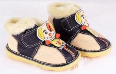 Cream and black leather toddler shoe XSLXY Sport size 16 or UK size 4 (approx 9-12 months)