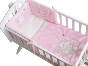 Obaby B is for Bear Quilt and Bumper Crib Set - Pink