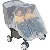 Mosquito Net for Twin or Tandem Buggy Pushchair FREE Travel Net Bag