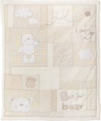 Obaby B is for Bear Set includes Quilt and Bumper for Newborn