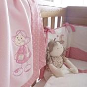 Patch Pink Fleece Blanket - Doll