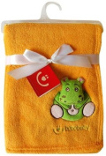 Cuddly Baby Blanket with 3D application / Blanket 76 x 102 cm