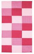 Sigikid patchwork blanket, pink
