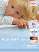 Hippychick Mattress Protector Fitted Sheet - 90 x 190cm Single