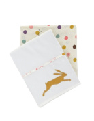 Joules Madhatter Girl's Flat and Fitted Cot Bed Sheets