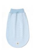 Bellybutton swaddlingbag, light blue white striped