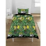 Kids/Childrens Ben 10 Bedding Set Duvet Cover and Pillow Case