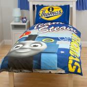 Childrens/Kids Thomas the Tank Engine Quilt/Duvet Cover Bedding Set (Single Bed)